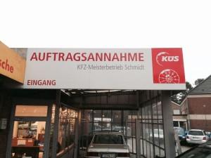 Werbetechnik Borgmeier Nordwalde Außenwerbung 7