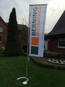 Werbetechnik Borgmeier Nordwalde Fahnen 3