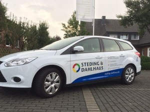 Werbetechnik Borgmeier Nordwalde Fahrzeugbeshriftung 6