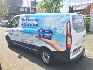 Werbetechnik Borgmeier Nordwalde Fahrzeugbeshriftung 9